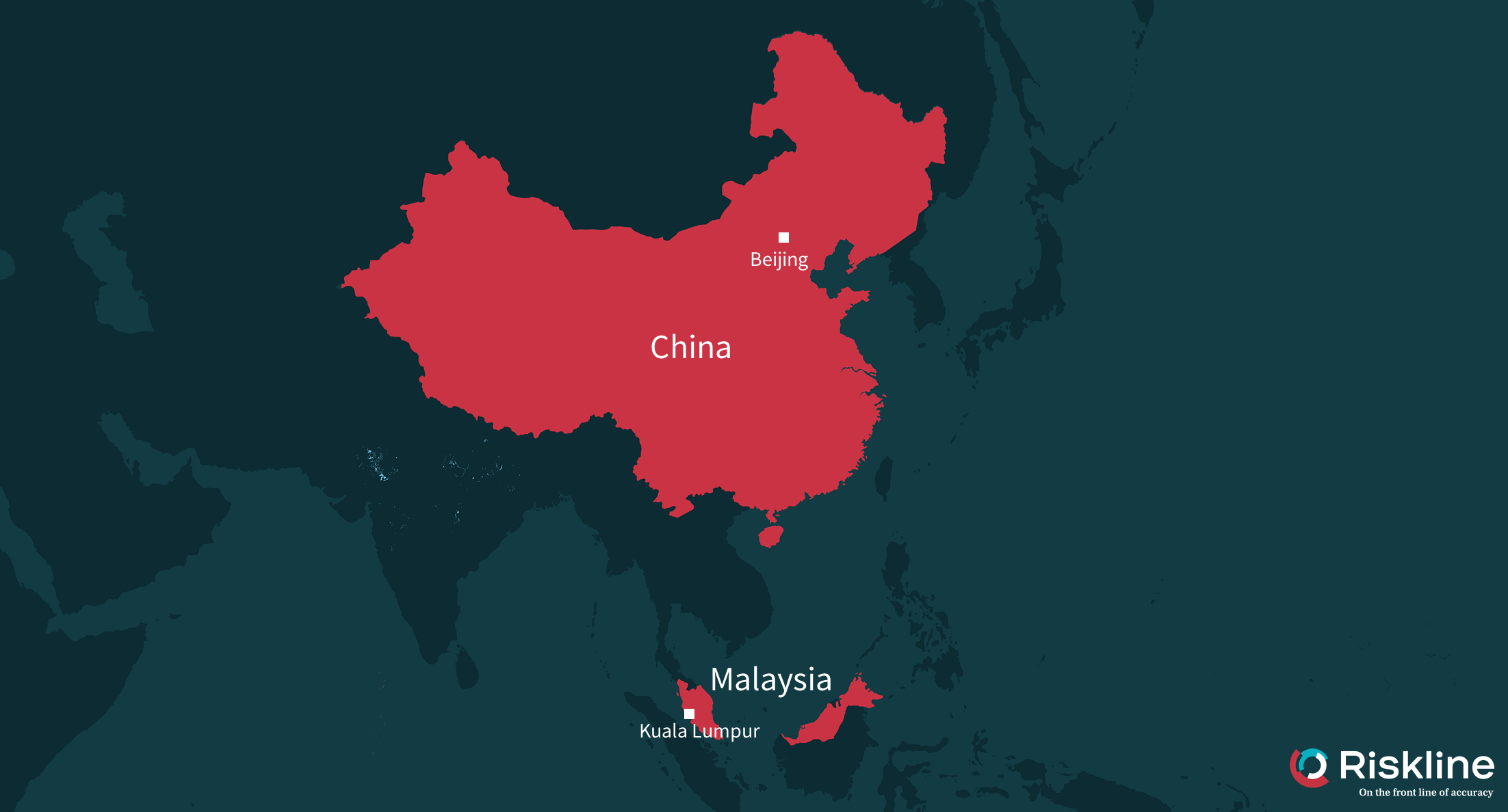 malaysia and china map The Future Of Malaysia China Relations Will Pakatan Harapan S Electoral Victory Lead To A Deterioration Of Bilateral Relations malaysia and china map